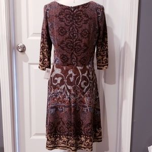 Chris McLaughlin Dresses - NWT Chris McLaughlin Patterned Fit and Flare Dress
